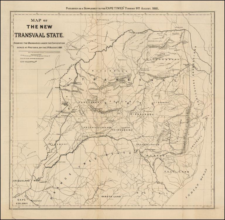 History of Transvaal