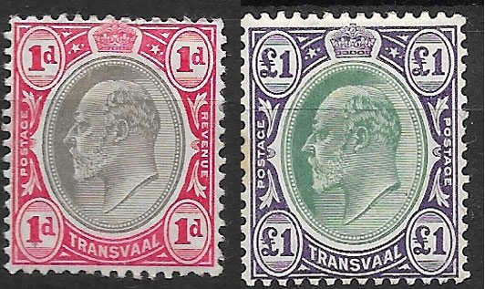 New postage stamps with Edward VII