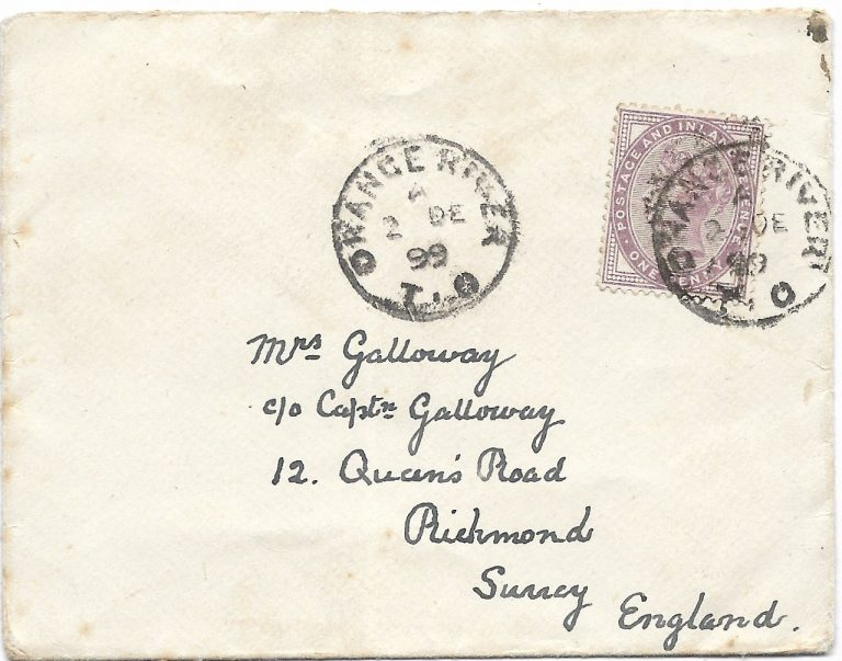 Wartime mail