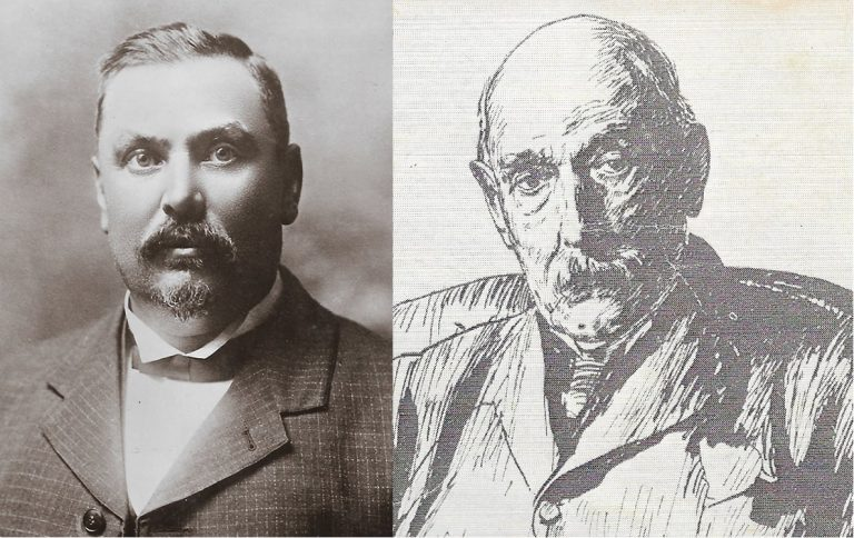 Louis Botha and John X Merriman
