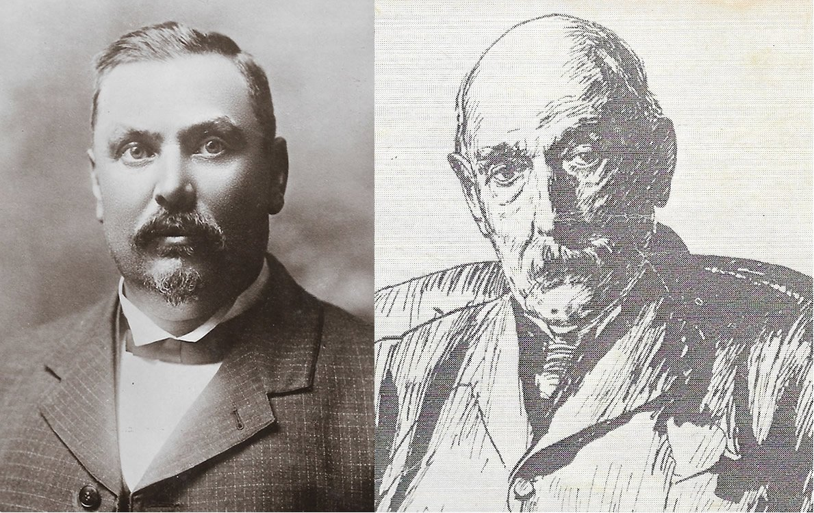 Louis Botha and John X Merriman
